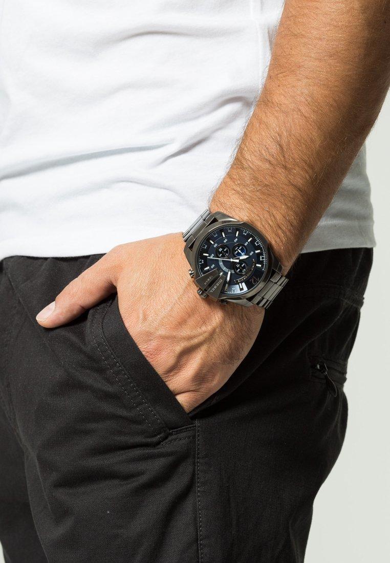Diesel - MEGA CHIEF - Chronograph watch - grey