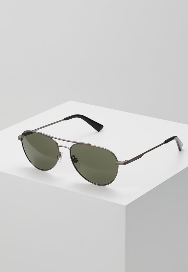 Sunglasses - silver-coloured/green