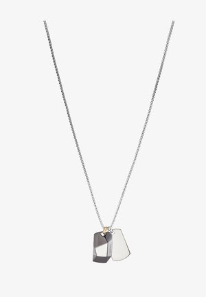 DOUBLE DOGTAGS - Collier - grau