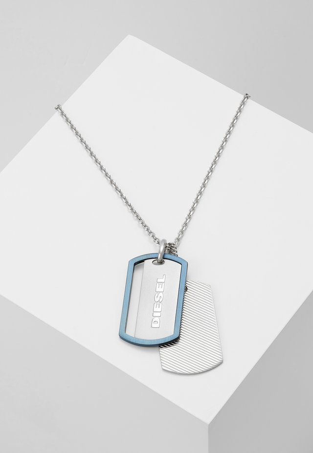 DOUBLE DOGTAGS - Kaulakoru - silver-coloured