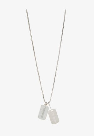 DOUBLE DOGTAGS - Ketting - silver-coloured