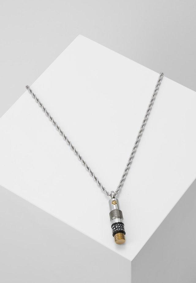 SINGLE PENDANT - Ketting - silver-coloured