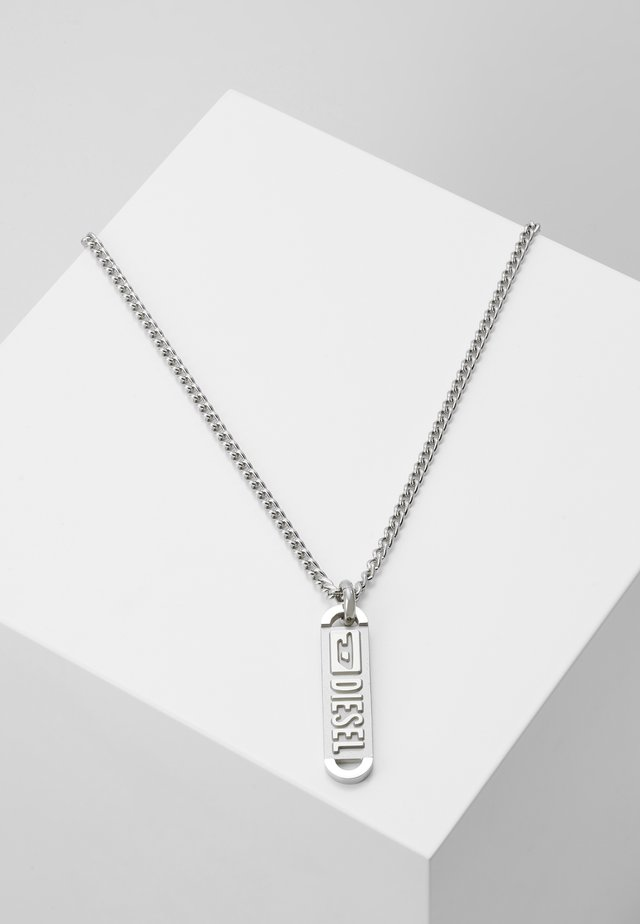 SINGLE PENDANT - Halskæder - silver-coloured