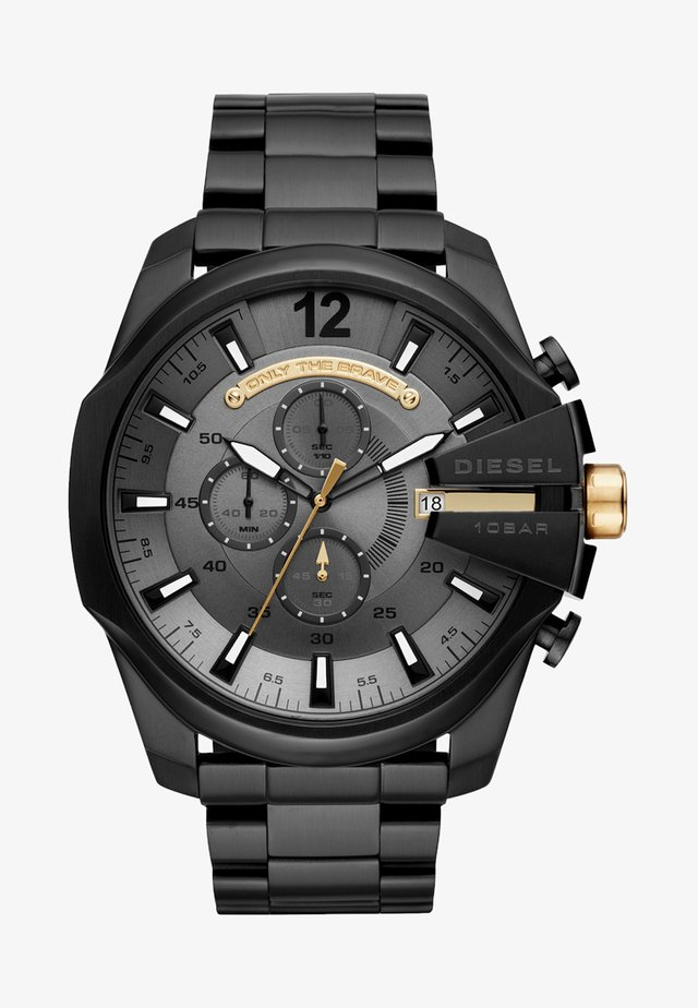MEGA CHIEF - Chronograph watch - schwarz ip