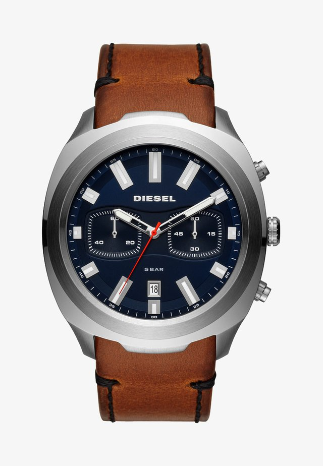 TUMBLER - Chronograph watch - braun