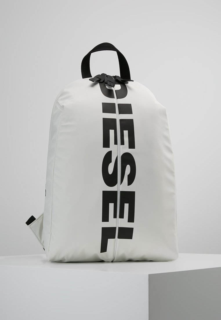 Diesel - BOLDMESSAGE F-BOLD BACK - BACKPACK - Sac à dos - weiss