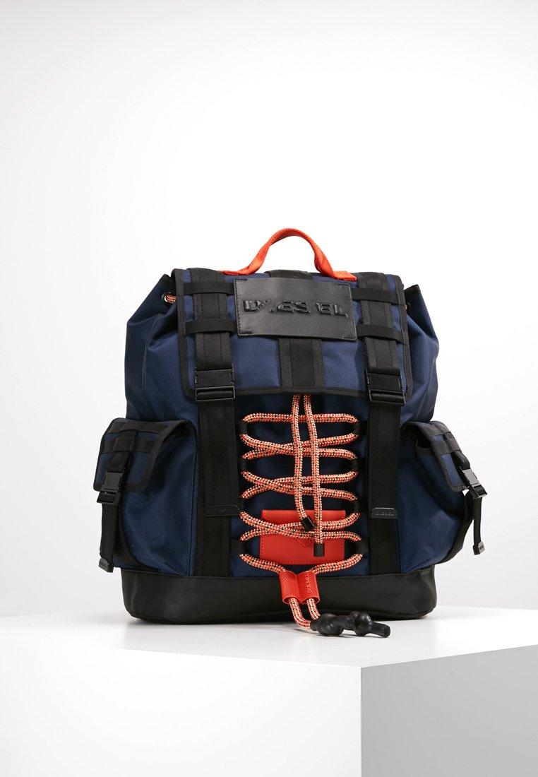 Diesel - CAGE BAG M-CAGE BACK - BACKPACK - Sac à dos - blau