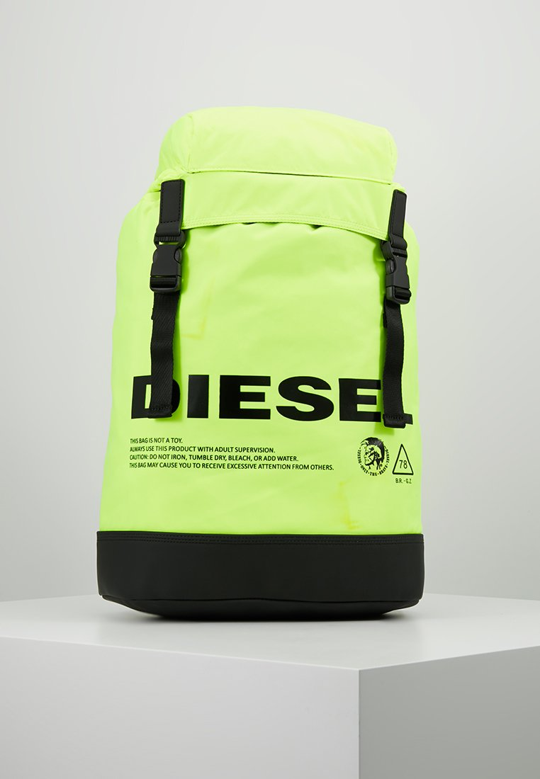 "Diesel - ""SUSEGANA"" F-SUSE BACK - Ryggsäck - fluo yellow"