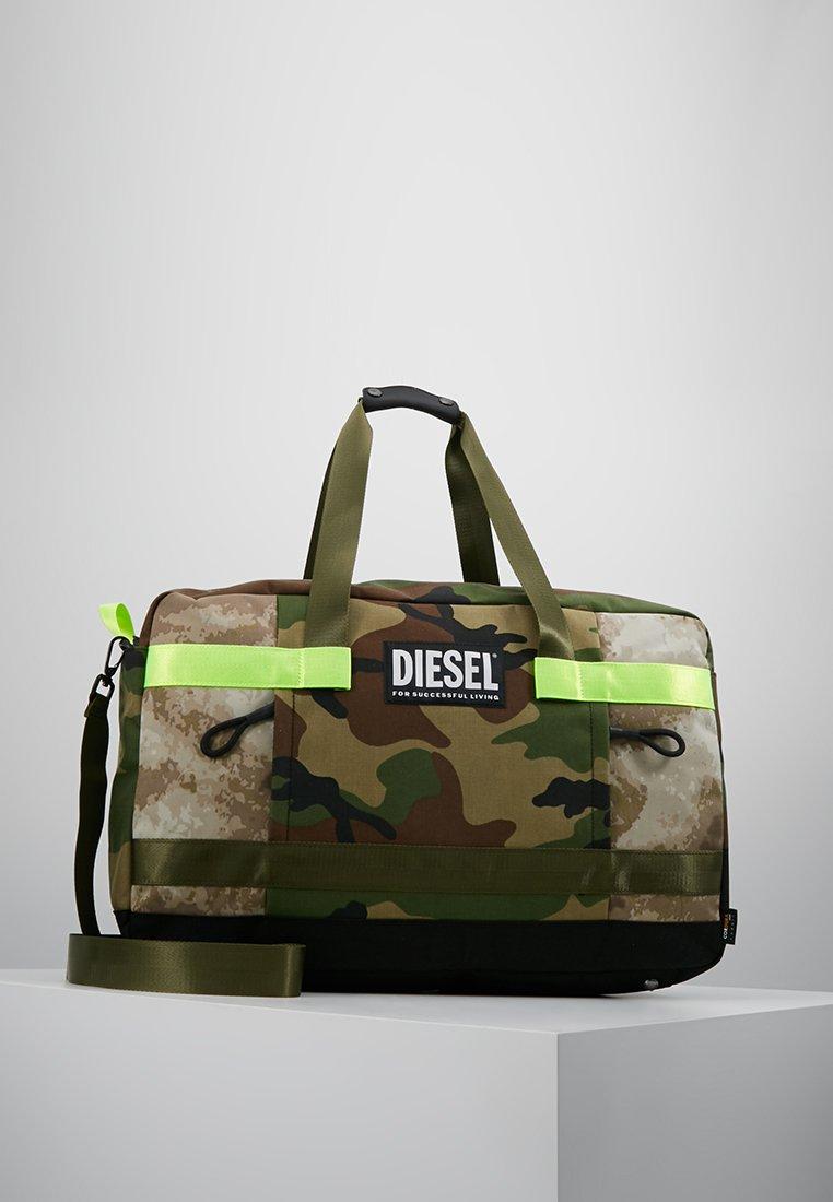 Diesel - URBHANITY SOLIGO - TRAVEL BAG - Weekender - camou/beige