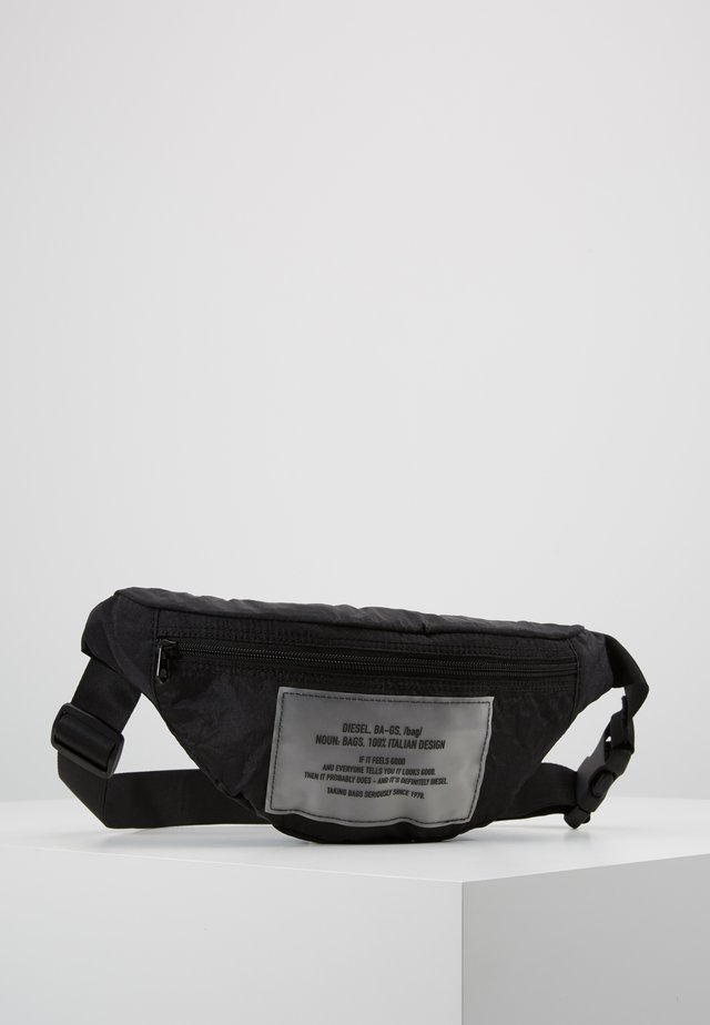 BELTPAK - BELT BAG - Vyölaukku - black