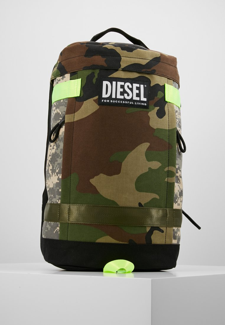 Diesel - URBHANITY PIEVE BACKPACK - Tagesrucksack - camouflage