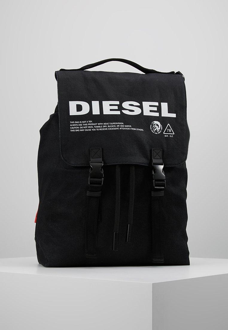 Diesel - THISBAGISNOTATOY VOLPAGO BACK BACKPACK - Rucksack - black