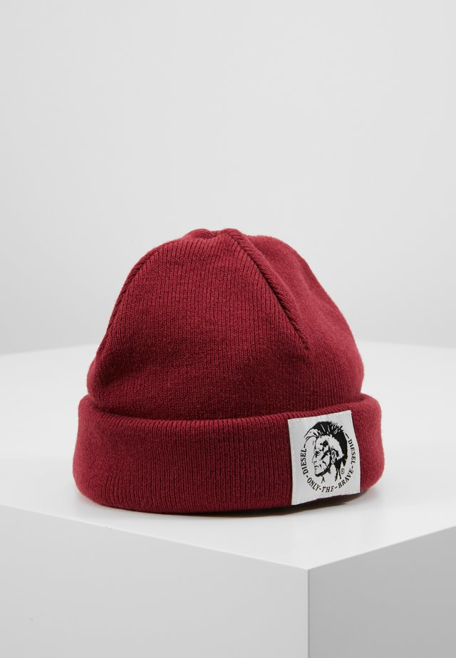 K-XAU HAT - Muts - burgundy red