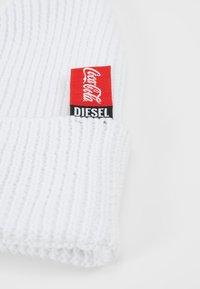 Diesel - BEANY COLA BERRETTO - Pipo - white - 5