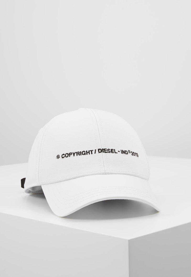 Diesel - CIMAXI HAT - Gorra - white