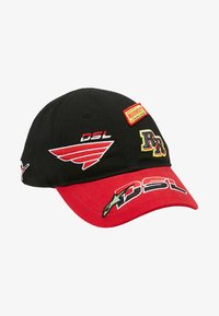 Diesel - ASTARS-CAP HAT - Cap - black/red - 4