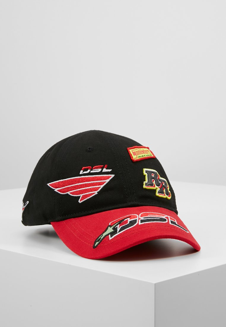 Diesel - ASTARS-CAP HAT - Cap - black/red