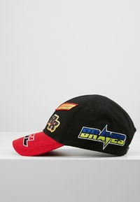 Diesel - ASTARS-CAP HAT - Cap - black/red - 3