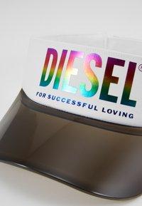 Diesel - VISOR-MAX-P - Cappellino - white - 3