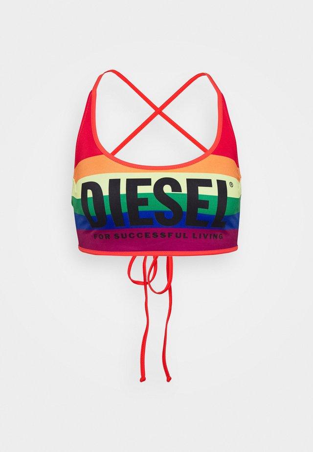 Bikiniyläosa - rainbow