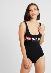 Diesel - SINGLET - Body - black - 0