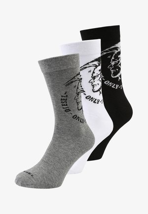 RAY SOCKS 3PACK - Chaussettes - schwarz/weiß/grau