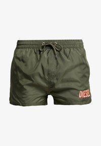 Diesel - BMBX-SANDY 2.017 SHORTS - Shorts da mare - green - 2