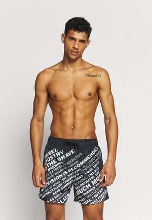 WAVE - Short de bain - black