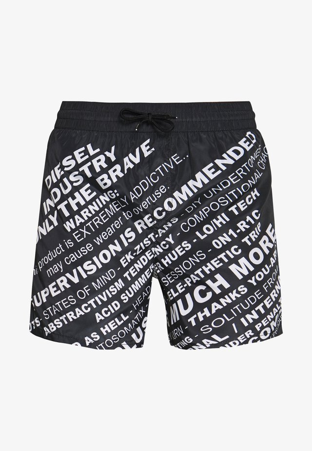 WAVE - Shorts da mare - black