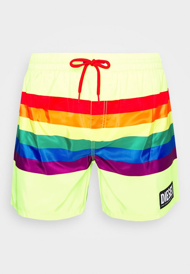 BMBX-WAVE 2.017- P SHORTS - Uimashortsit - yellow