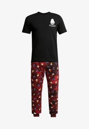 JAKE JULIO SET - Pyjamas - black/red