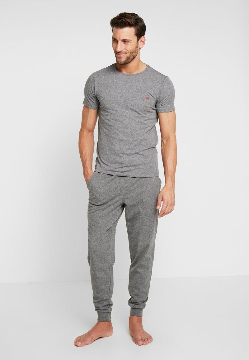 Diesel - UMTEE-RANDALTHREEPACK T-SHIRT 3 PACK - Pyjama top - grey/black/white