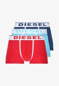 Diesel - 3 er PACK - Shorty - hellblau/blau/rot - 5