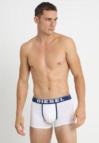 Diesel - 3 er PACK - Shorty - dunkelblau/weiß/grau - 1