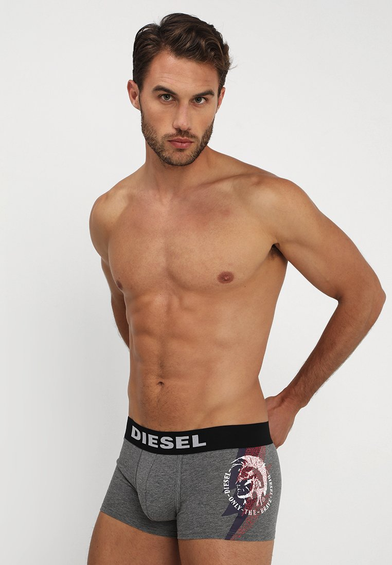 Diesel - UMBX-DAMIENTHREEPACK BOXER 3 PACK - Shorty - black/grey/red