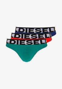 Diesel - UMBR-STRINGTHREEPACK BRIEF 3 PACK - Alushousut - green/red/blue - 0
