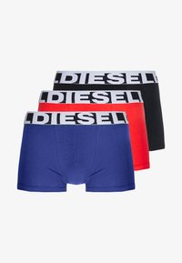 Diesel - SHAWN 3 PACK - Shorty - red/black/blue - 3