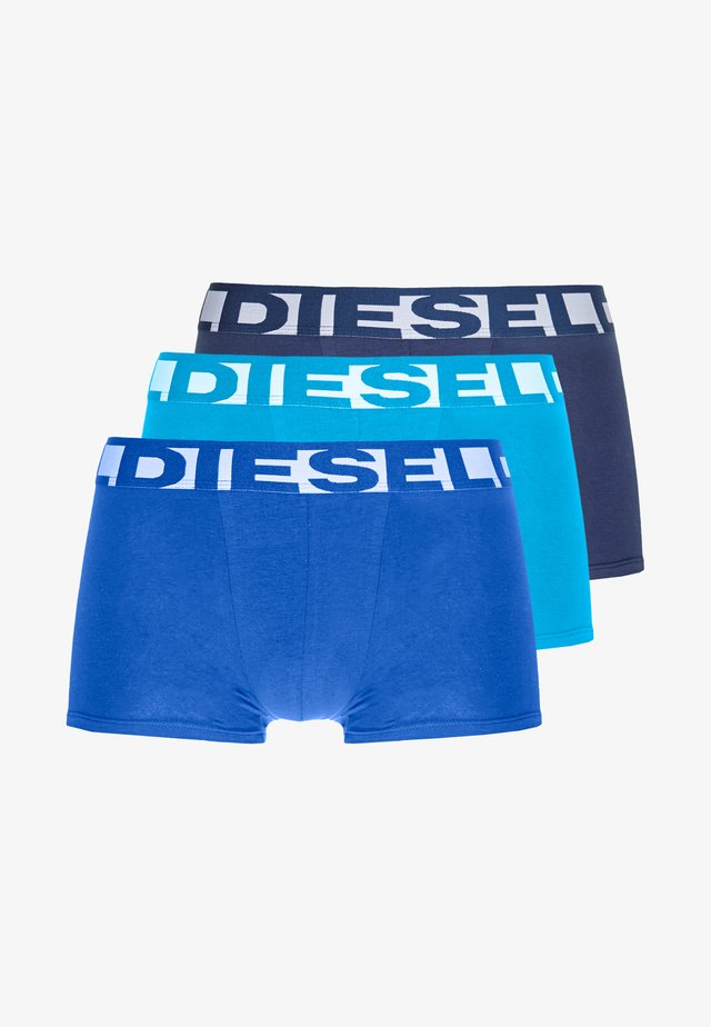 SHAWN 3 PACK - Boxerky - light blue/blue/dark blue