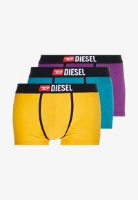 Diesel - DAMIENTHREEPACK BOXER 3 PACK - Onderbroeken - purple/yellow/blue - 3