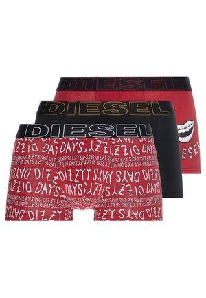 UMBX-DAMIENTHREEPACK BOXER 3PACK - Underkläder - red/black