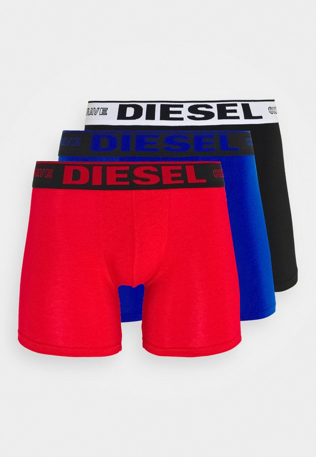UMBX SEBASTIAN BOXER SHORTS 3 PACK - Pants - black/red/blue