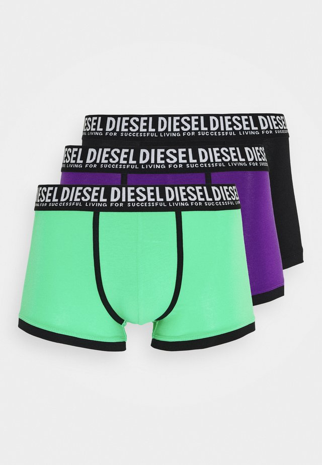 UMBX-DAMIENTHREEPACK-P BOXER-SHORTS 3 PACK - Panties - black/green/purple