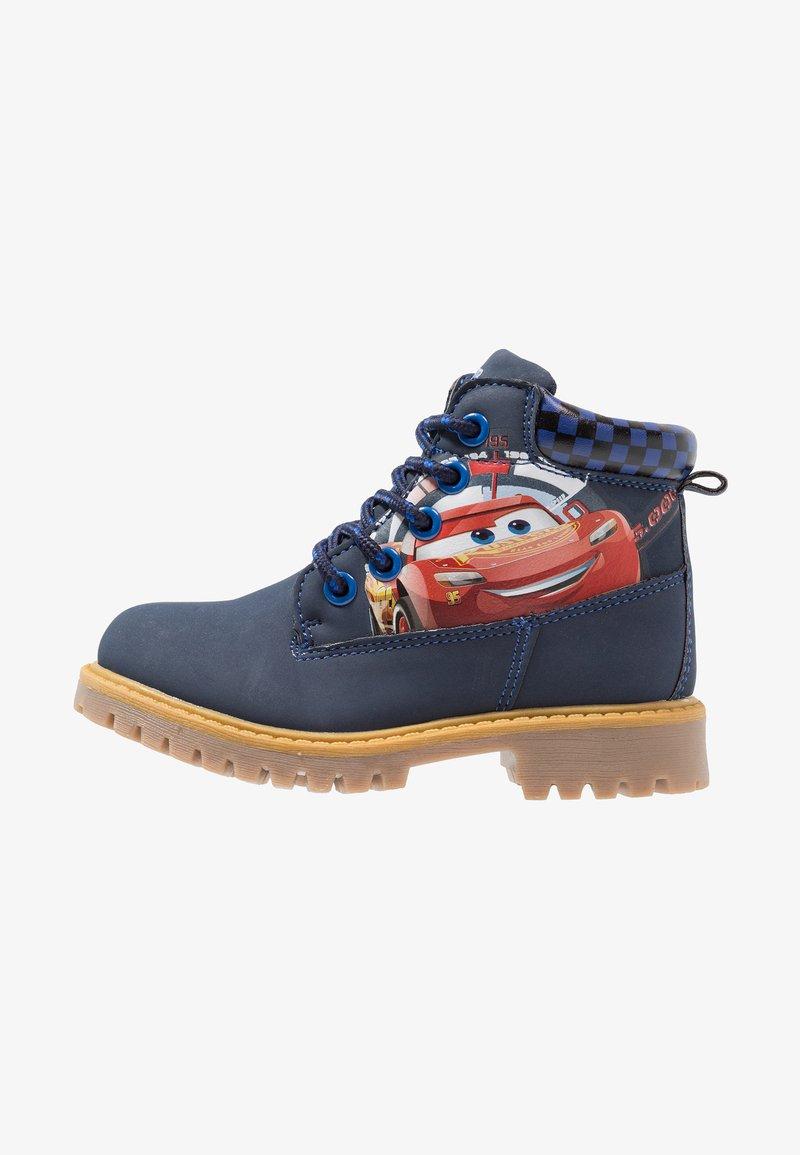 Disney/PIXAR Cars - Šněrovací kotníkové boty - blu