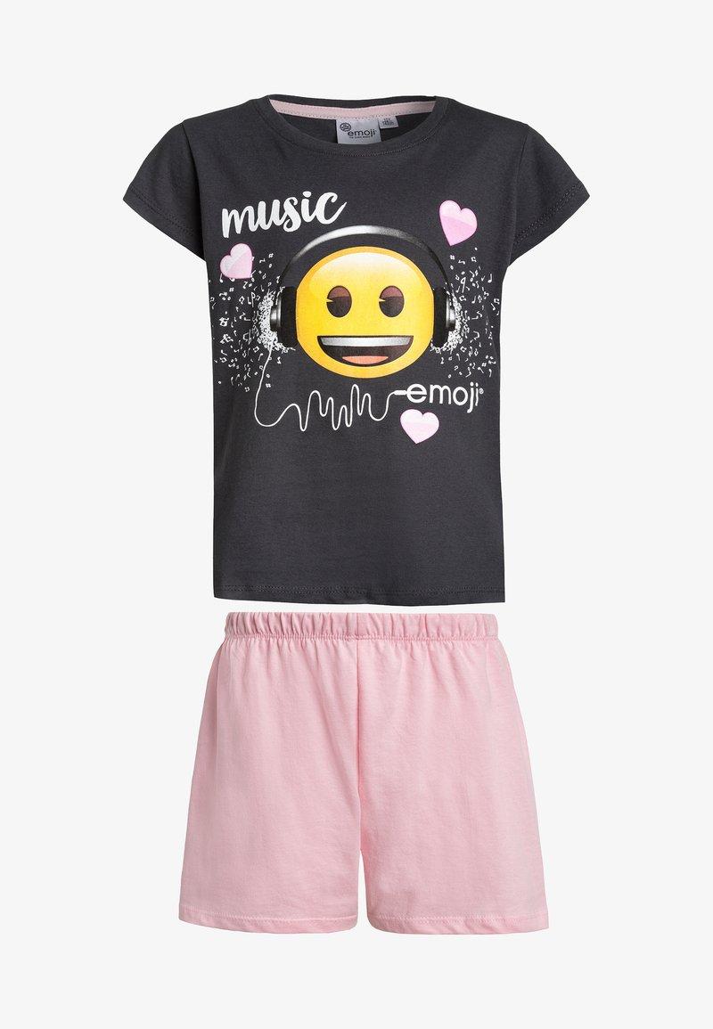 Emoi - KURZ - Pyjama set - schwarz