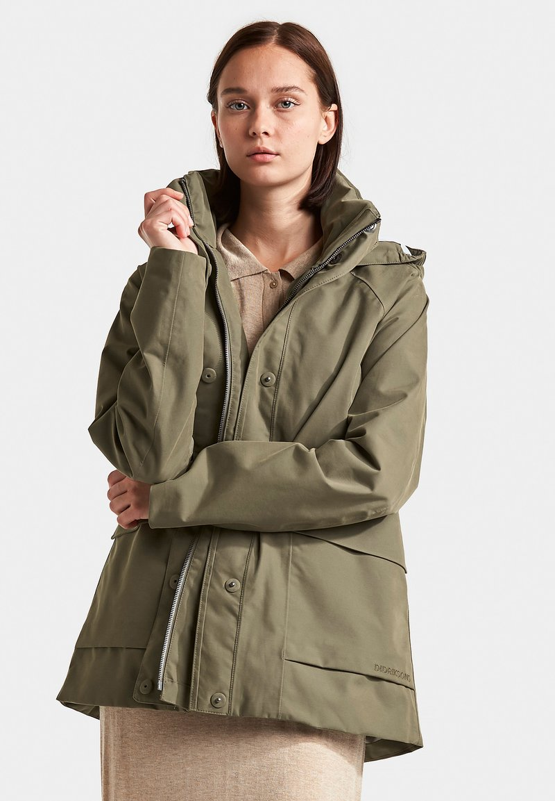 Didriksons - Outdoor jacket - dusty olive