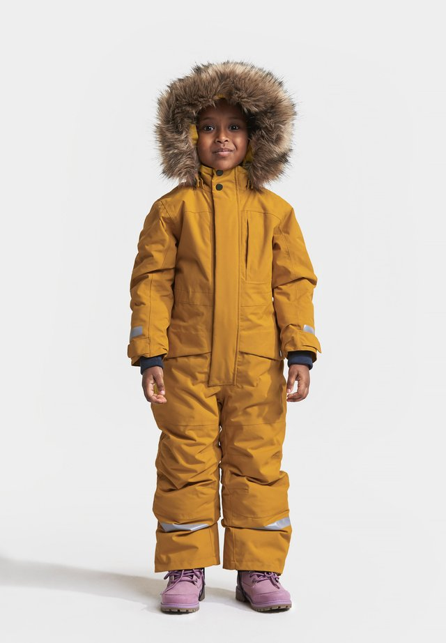 Snowsuit - yellow ochre