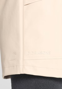 Didriksons - BOJAN WOMENS JACKET - Waterproof jacket - beige - 5