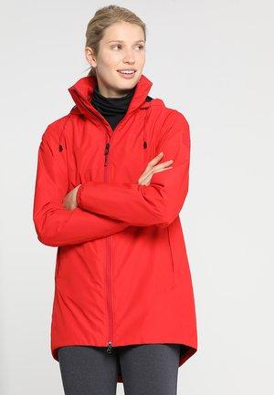NOOR WOMEN'S - Waterproof jacket - red