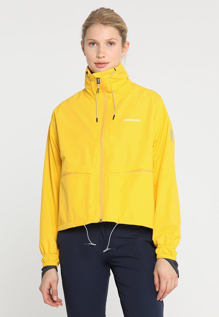 Didriksons - PERLA WOMEN'S JACKET - Waterproof jacket - gelb