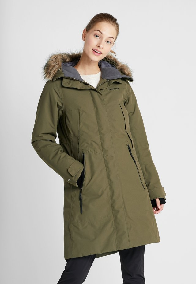 MEA WOMENS  - Parka - crocodile green